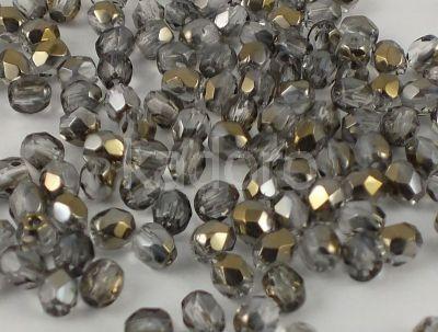 FP 3mm Bronze Iris Crystal - 40 sztuk