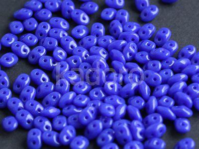 SuperDuo 2.5x5mm Opaque Blue - 10 g
