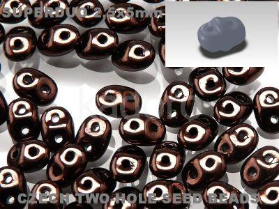 SuperDuo 2.5x5mm Dark Bronze - 10 g