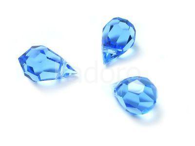 Drop 10x6mm Sapphire - 1 sztuka