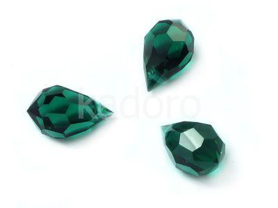 Drop 10x6mm Emerald - 1 sztuka