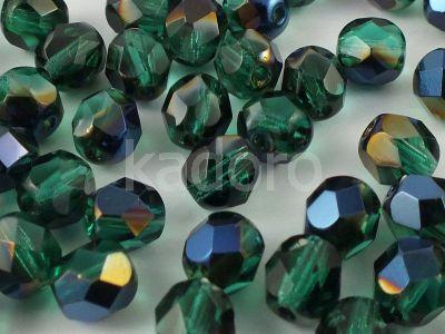 FP 6mm Blue Iris - Emerald - 20 sztuk