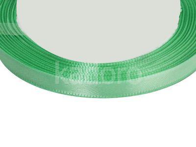 Wstążka atłasowa 6 mm seledynowa - rolka
