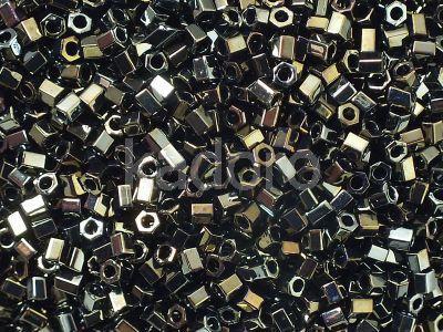 TOHO Hex 8o-83 Metallic Iris Brown - 10 g