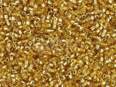 TOHO Treasure 12o-22 Silver-Lined Lt Topaz - 5 g