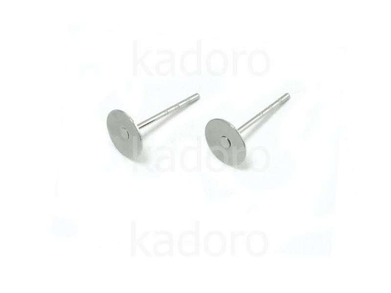 Sztyfty z płytką 6 mm stal chirurgiczna - 2 pary