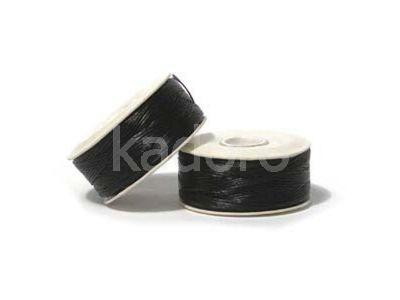 Nici nylonowe Nymo 0 Black - szpulka