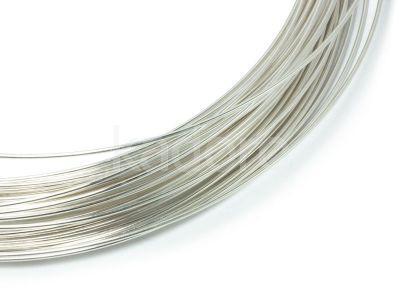 Drut srebrny 999 3 mm - 10 cm