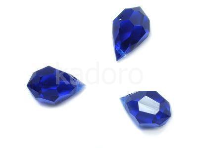 Drop 10x6mm Cobalt - 1 sztuka
