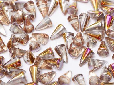 Spike Beads Crystal Sliperit 8x5 mm - 20 sztuk