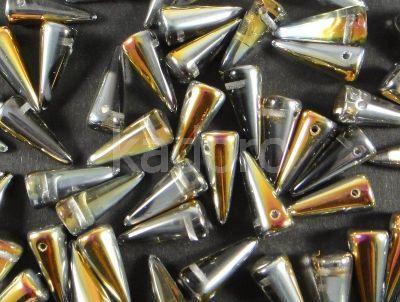 Spike Beads Crystal Marea 17x7 mm - 10 sztuk