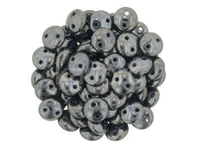 Lentil 6mm Hematite - 20 sztuk