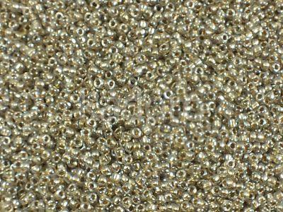 TOHO Round 15o-989 Gold-Lined Crystal - 5 g
