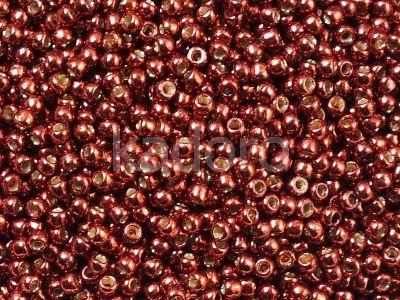 TOHO Round 11o-PF564 Permanent Finish - Galvanized Brick Red - 10 g