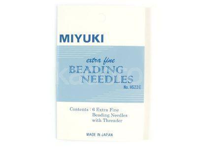 Igły Miyuki Extra Fine - 1 karnet