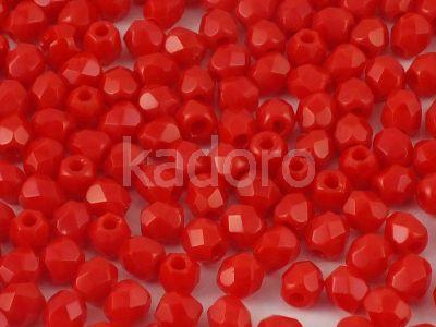 FP 3mm Opaque Red - 40 sztuk