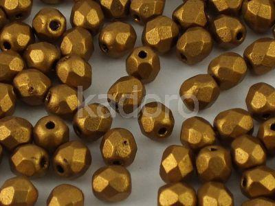 FP 4mm Matte Metallic Goldenrod - 40 sztuk