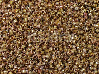 TOHO Treasure 12o-Y184 HYBRID Luster - Opaque Rose - Gold Topaz - 5 g