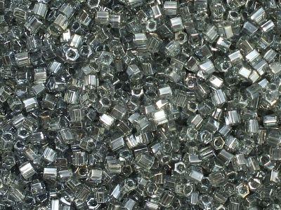 TOHO Hex 11o-113 Trans-Lustered Black Diamond - 10 g