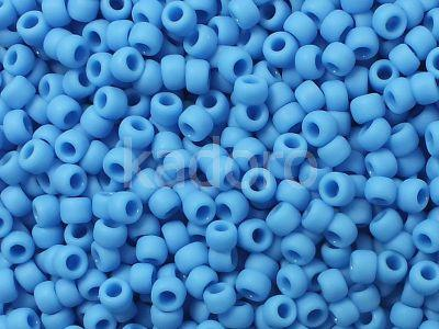TOHO Round 8o-43DF Opaque-Frosted Cornflower - 10 g