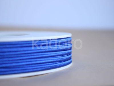 Sznurek do sutaszu acetatowy ciemnoniebieski 3 mm - 1 m