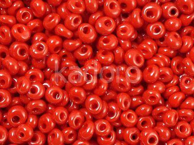 TOHO Magatama 3mm-45 Opaque Pepper Red - 10 g