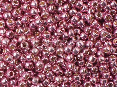 TOHO Round 8o-PF553 Permanent Finish - Galvanized Pink Lilac - 10 g