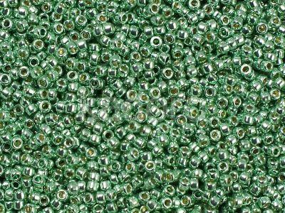 TOHO Round 15o-PF570 Permanent Finish - Galvanized Mint Green - 5 g