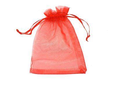 Sakiewka czerwona z organtyny - 1 sztuka