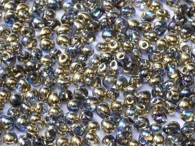 Miyuki Drop 3.4mm-55023 Crystal Golden Rainbow - 10 g