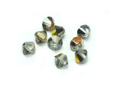 Bicone 4mm Crystal Marea - 6 sztuk