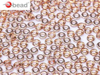 O bead Crystal Capri Gold  - 5 g