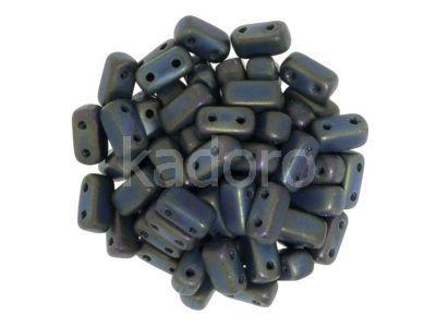 Bricks 6x3mm Matte Iris Green - 20 sztuk