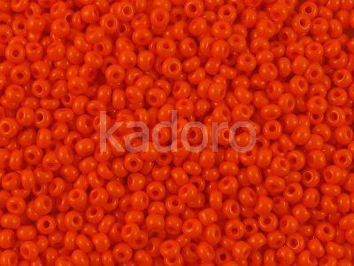 PRECIOSA Rocaille 8o-Opaque Dark Orange - 50 g