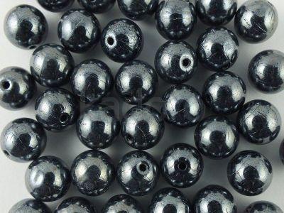 Round Beads Hematite 8 mm - 10 sztuk