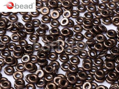 O bead Dark Bronze - 5 g