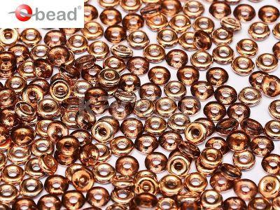 O bead Amethyst Capri Gold - 5 g