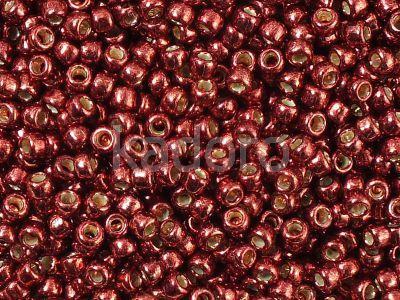 TOHO Round 8o-PF564 Permanent Finish - Galvanized Brick Red - 10 g