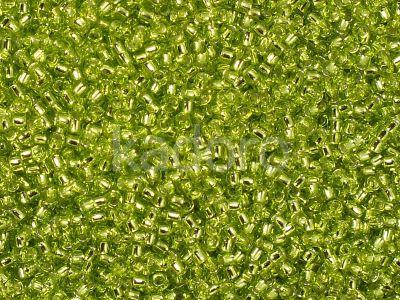 TOHO Round 15o-24 Silver-Lined Lime Green - 5 g