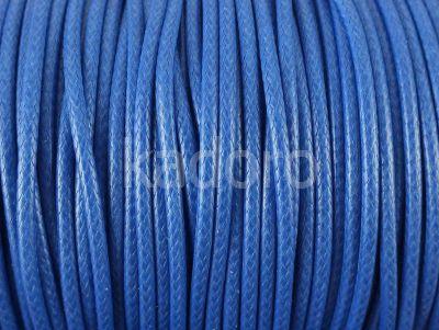 Sznurek lakierowany niebieski 2 mm - 2 m