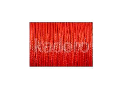 Sznurek lakierowany czerwony 1 mm  - 3 m