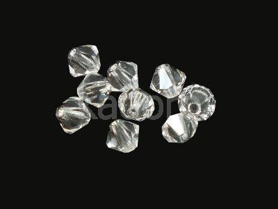 Bicone 3mm Crystal - 100 sztuk