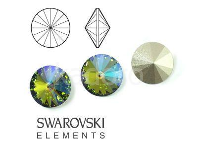Rivoli Swarovski 12 mm Crystal Paradise Shine F - 1 sztuka