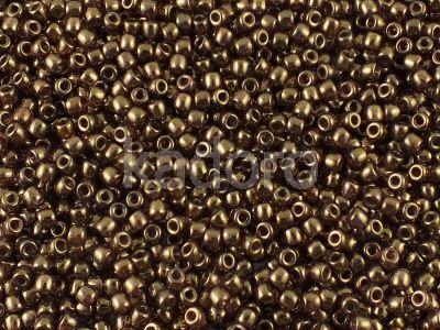 Matubo 8o Luster-Transparent Gold-Smoky Topaz - 10 g