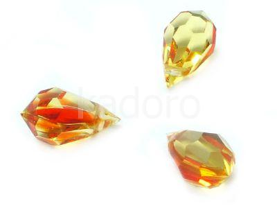 Drop 10x6mm Fire Opal - 1 sztuka