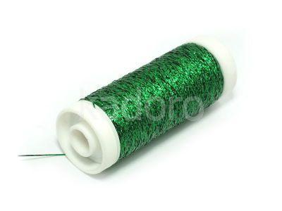 Nici metalizowane Conitex mini.metalica zielone - 160 m