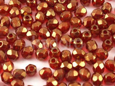 FP 3mm Bronze - Siam Ruby - 40 sztuk