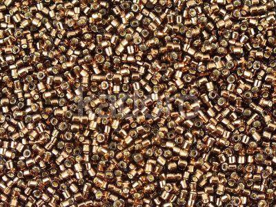 Miyuki Delica DB0150 Silver Lined Brown - 5 g