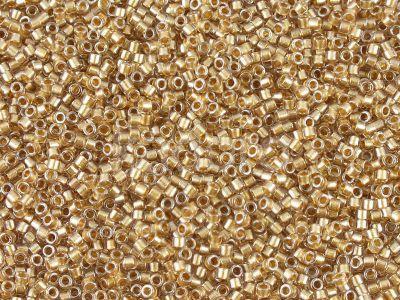 Miyuki Delica DB0907 Sparkling Lt. Bronze Lined Crystal - 5 g
