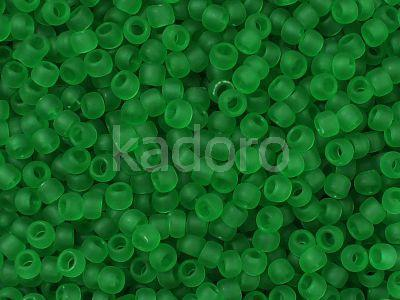 TOHO Round 11o-7BF Transparent-Frosted Grass Green - 10 g